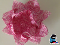 come fare un fiore di loto in origami