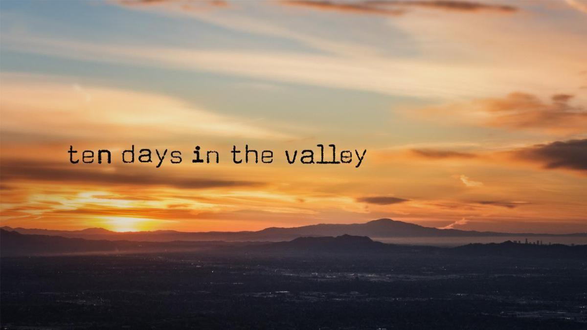 Poster promocional de 'Ten Days in the Valley'