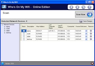 أفضل برامج لمعرفة من يسرق منك wifi coobra.net