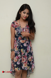 Actress Chinmayi Pictures in Floral Short Dress 0060