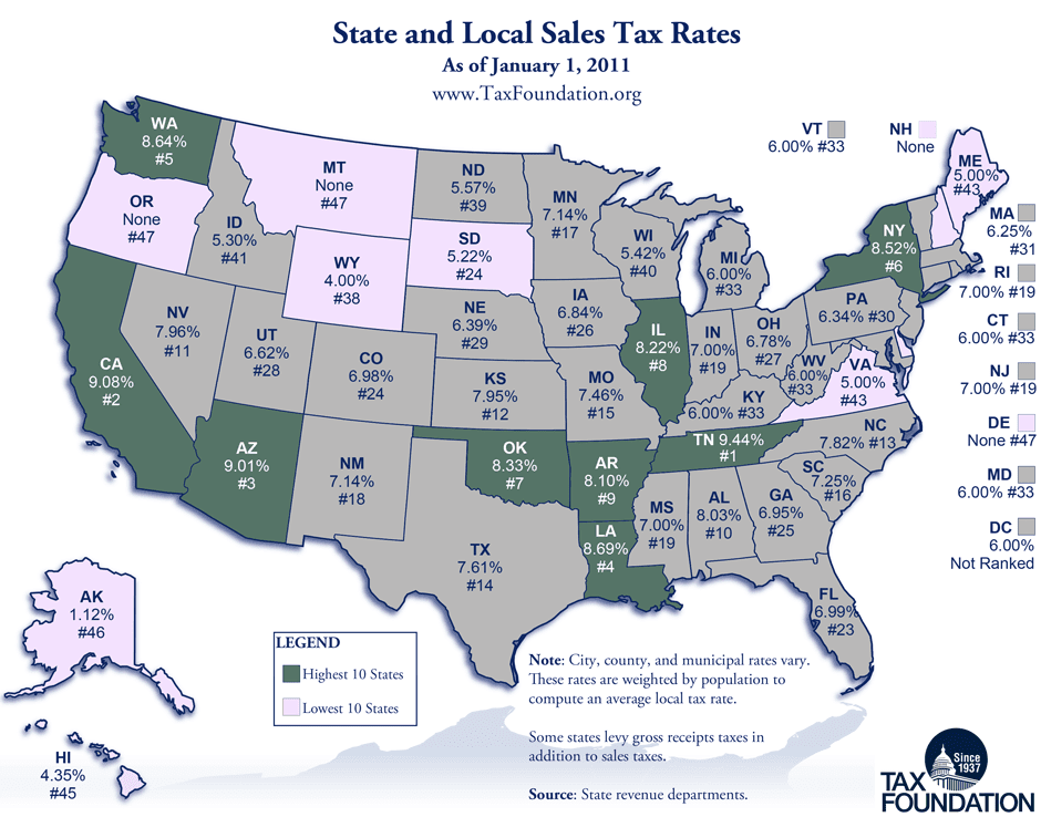 CARPE M: Tax Foundation Map of State and Local Tax Rates on gasoline tax map, california sales tax map, cigarette tax by state map, wa state sales tax map, new york state county map, estate tax by state map, religion by state map, minimum wage by state map, concealed carry reciprocity map, sales tax ohio map, no sales tax states map, 2012 electoral map, state income tax map, property tax by state map, business tax by state map, blue map, racism by state map, gas tax map, educational attainment by state map, sales tax indiana map,