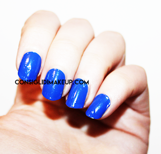 NOTD:Ready to go Colour 103 Bright Blue - Kiko Cosmetics