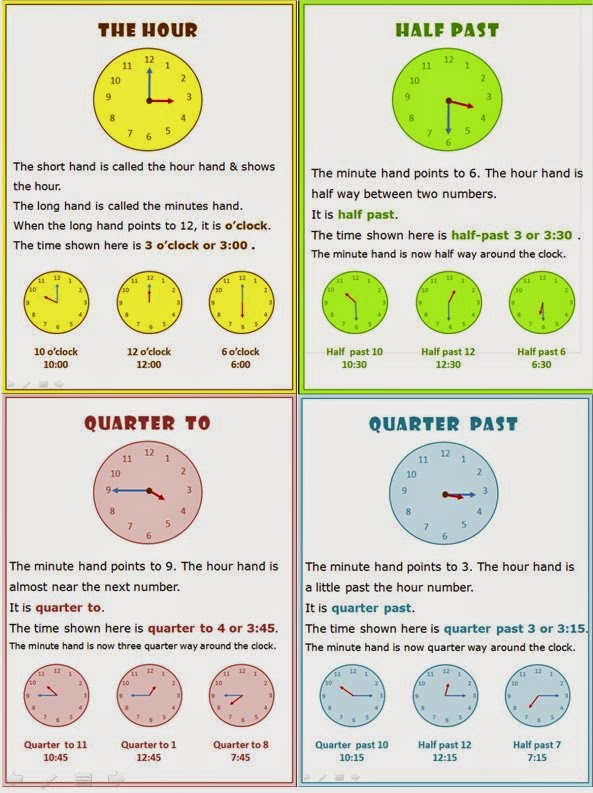 Time Worksheets time worksheets quarter past : Happy Learners: Teaching Time