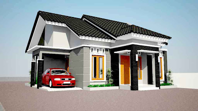 Desain Rumah Minimalis Type 80 1 lantai