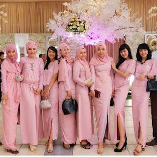 Inspirasi Kebaya Batik Indonesia Hijab Gamis
