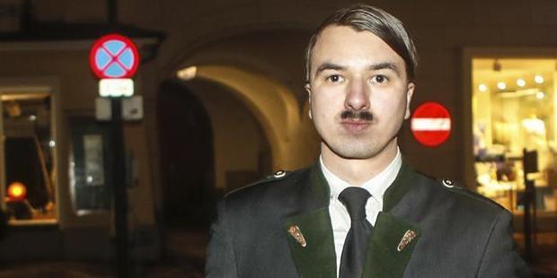 Hitler lookalike Harald Zenz arrested by Austrian police
