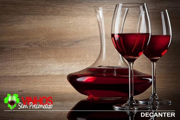 Decanter e Areador de Vinho