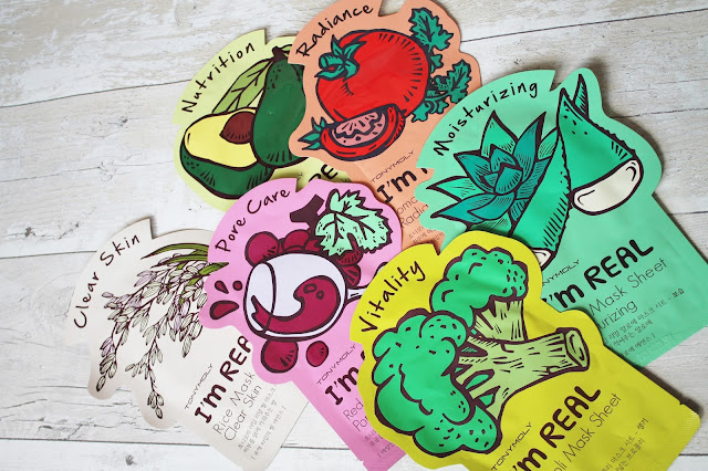 Tony Moly Sheet Masks