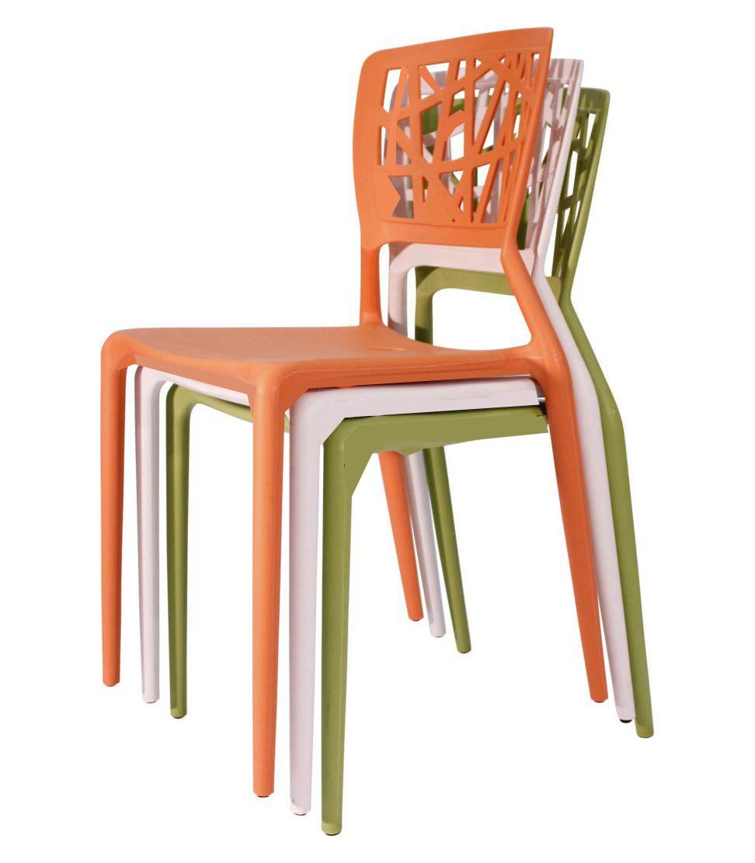 Modern Designer Plastic Chair Office Furniture