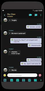 Download BBM MOD Black Official Versi Terbaru v3.2.0.6 APK