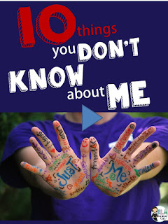 Ela Seminar Gal 10 Things You Don T Know About Me List Maker