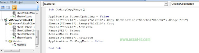 Copy Destination Vba