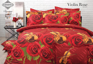 Sprei Kendra Signature Violin Rose