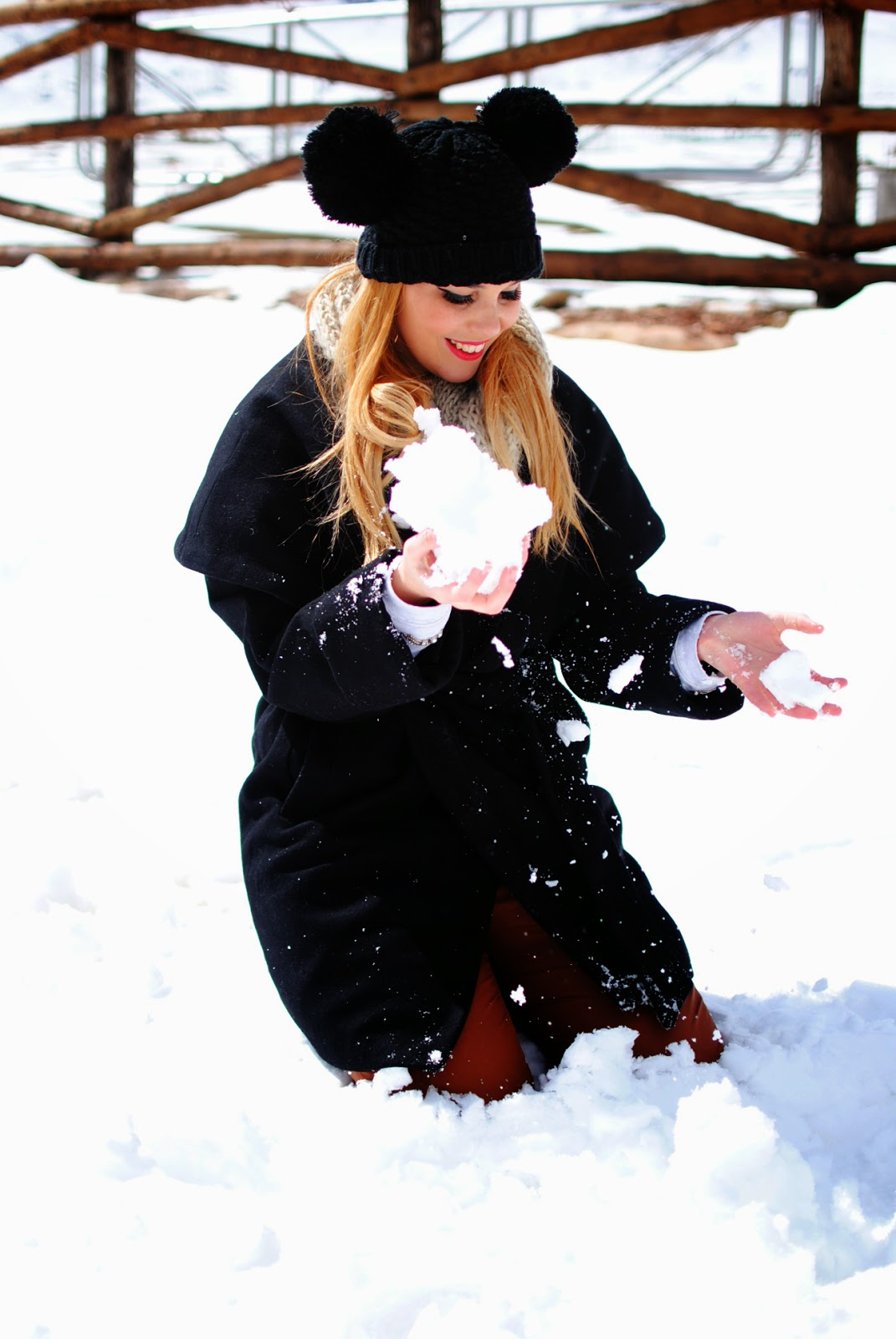 winter look, beanie, front row shop,hunter, look en la nieve, nery hdez