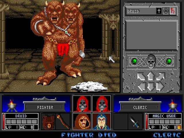 Indie Retro News: Black Crypt - A brilliant Amiga dungeon ...