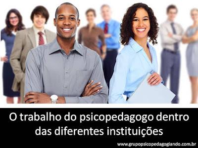 Monografia psicopedagogia institucional