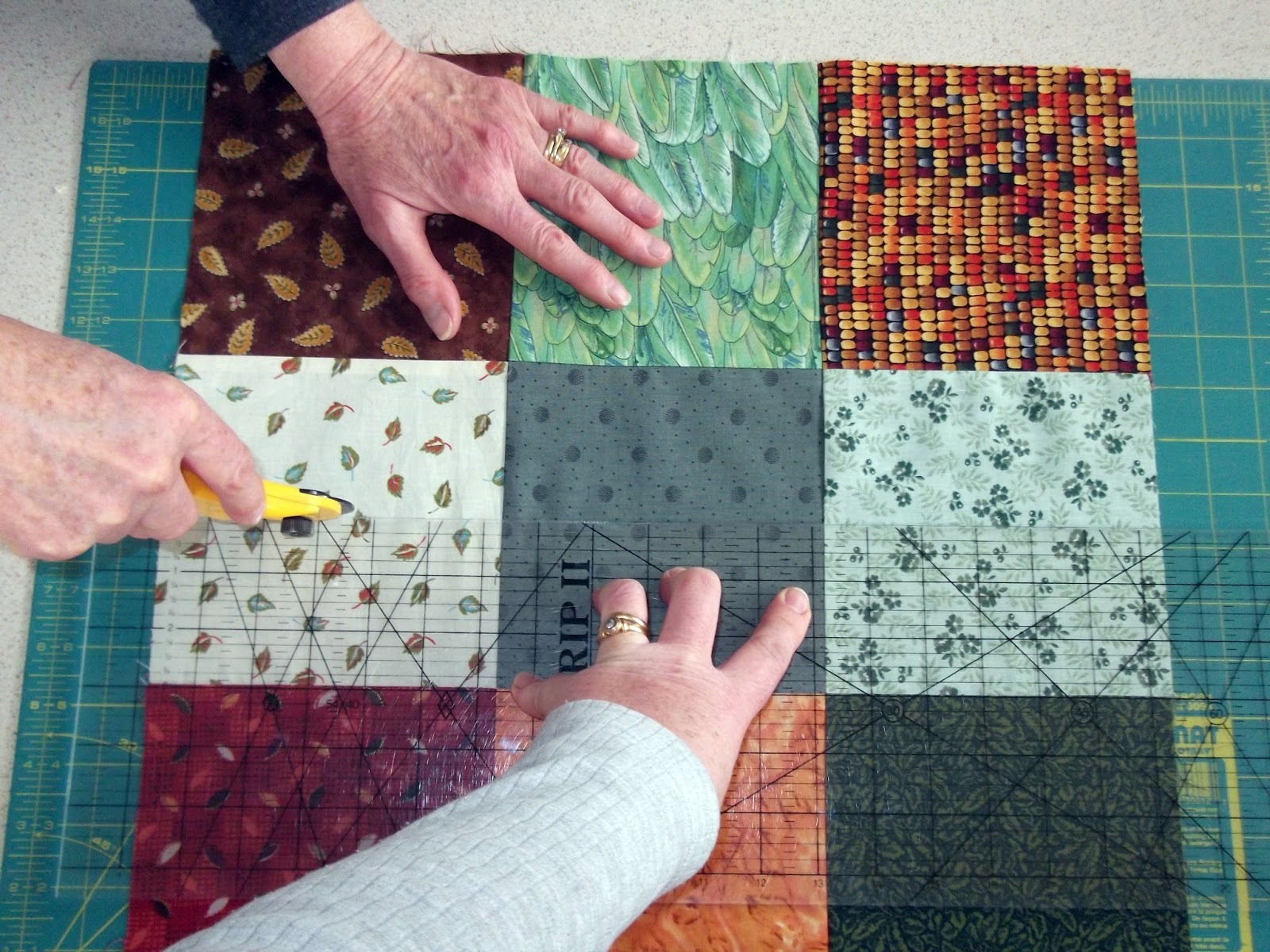 Made with my two hands: Make a patchwork quilt by just sewing ... : how to quilt squares - Adamdwight.com