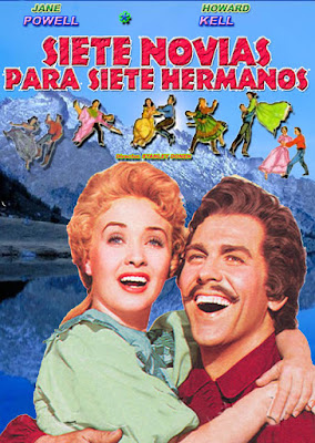Seven Brides For Seven Brothers DVDR PAL Castellano