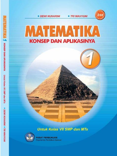 Download Buku Siswa KTSP SMP dan MTs Kelas 7 Matematika Konsep dan Aplikasinya