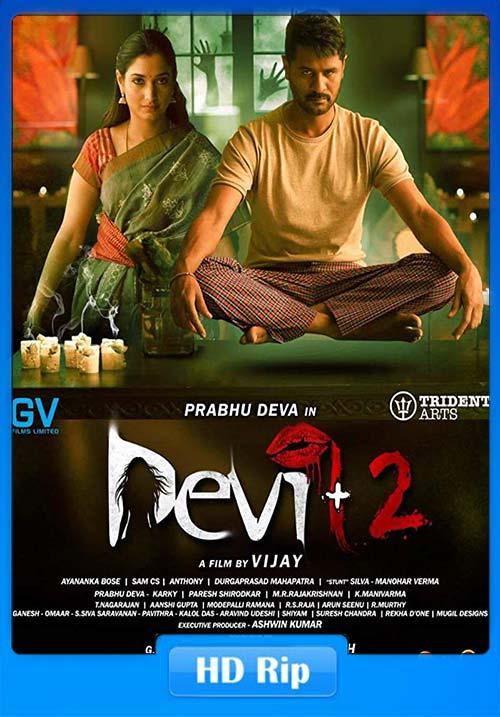 Devi 2 2019 Tamil 720p HDRip ESub x264 | 480p 300MB | 100MB HEVC Poster