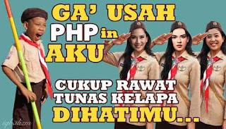 Meme Pramuka PHP