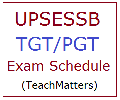 image : UPSESSB TGT-PGT Exam 2016 Time Table 2019 @ TeachMatters