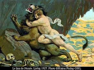 mito de hercules heracles leon de nemea