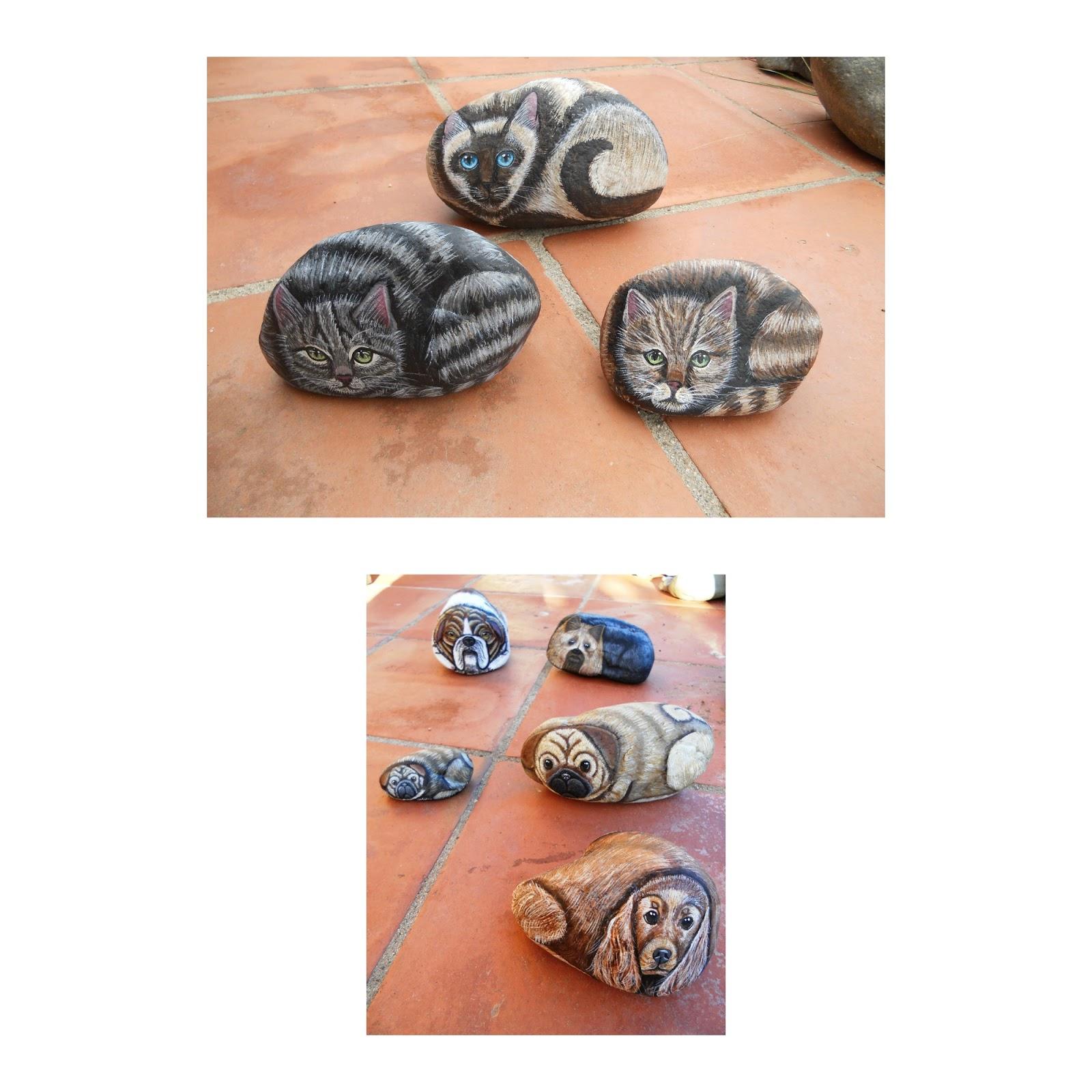 Piedras pintadas a mano manuales para pintar piedras for Donde conseguir piedras para pintar
