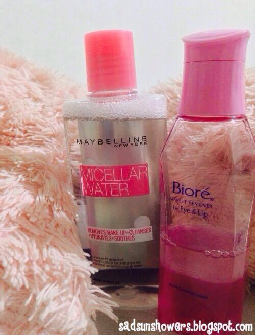 COMPARISON AND REVIEW: Maybelline Micellar Water vs. Biore Makeup Remover for Lip and Eye