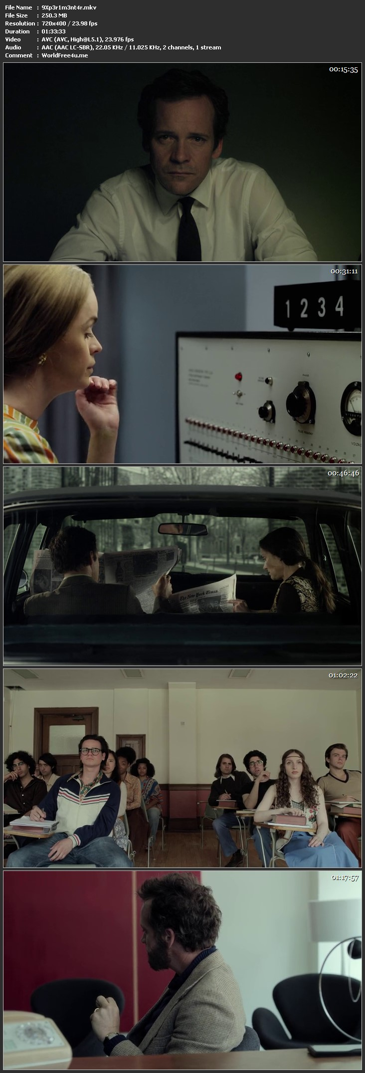 Screen Shot Of Experimenter 2015 Full Movie Download Free Watch Online 300MB