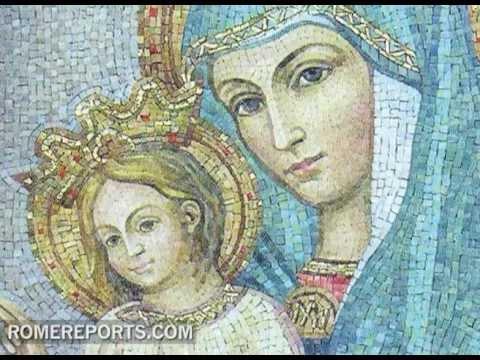 grande Virgen consolador cerca de Baracaldo