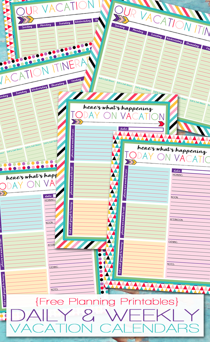I should be mopping the floor free printable daily and for Trip calendar planner template