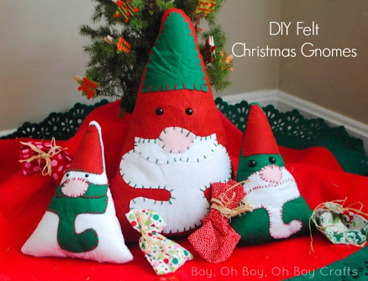 Bake, Craft, Sew: Christmas Gnomes and a Giveaway