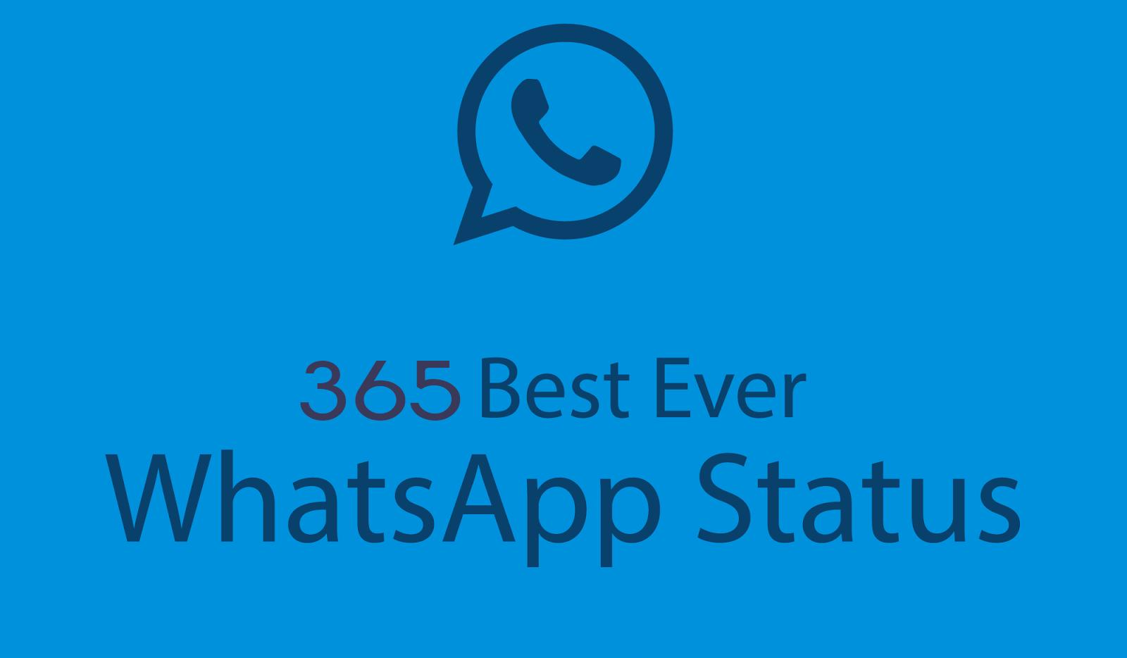 365 Whatsapp Status Whatsapp Status Bank