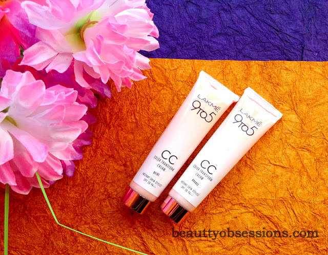 Lakme 9 to 5 Colour Transform CC Creams (Beige And Bronze)  Review  And Swatches