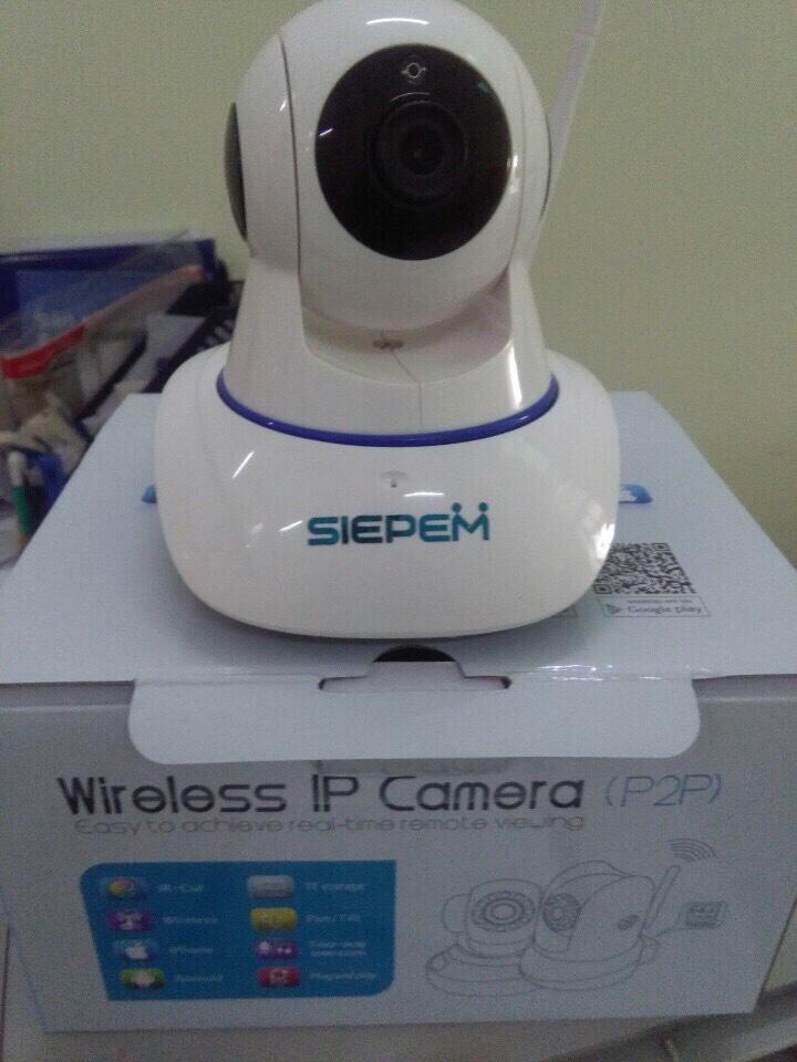 360k - Camera IP xoay 360 độ P2P 2 râu giá sỉ và lẻ rẻ nhất