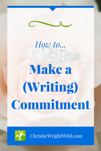 How to make a commitment to your writing | how to fight procrastination | just do it | make a running commitment