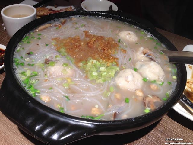 旗魚芋頭米粉