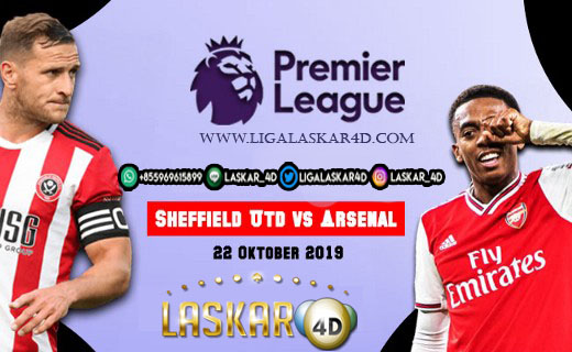 Prediksi Pertandingan Bola Sheffield United vs Arsenal 22 Oktober 2019