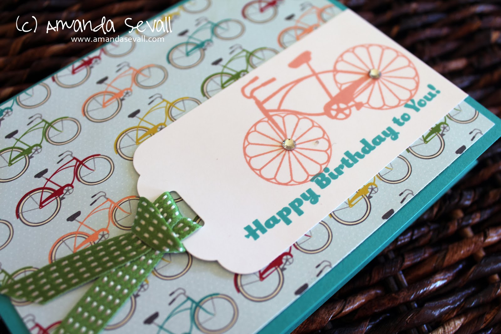 Happy Birthday Cyclist Cake
