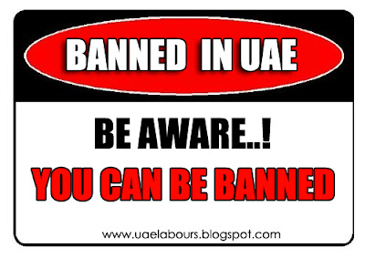 narcotics as well as chemicals guide keep been strictly prohibited yesteryear the Government of United Arab Em Top Ten Banned Items inwards UAE (Important Article)