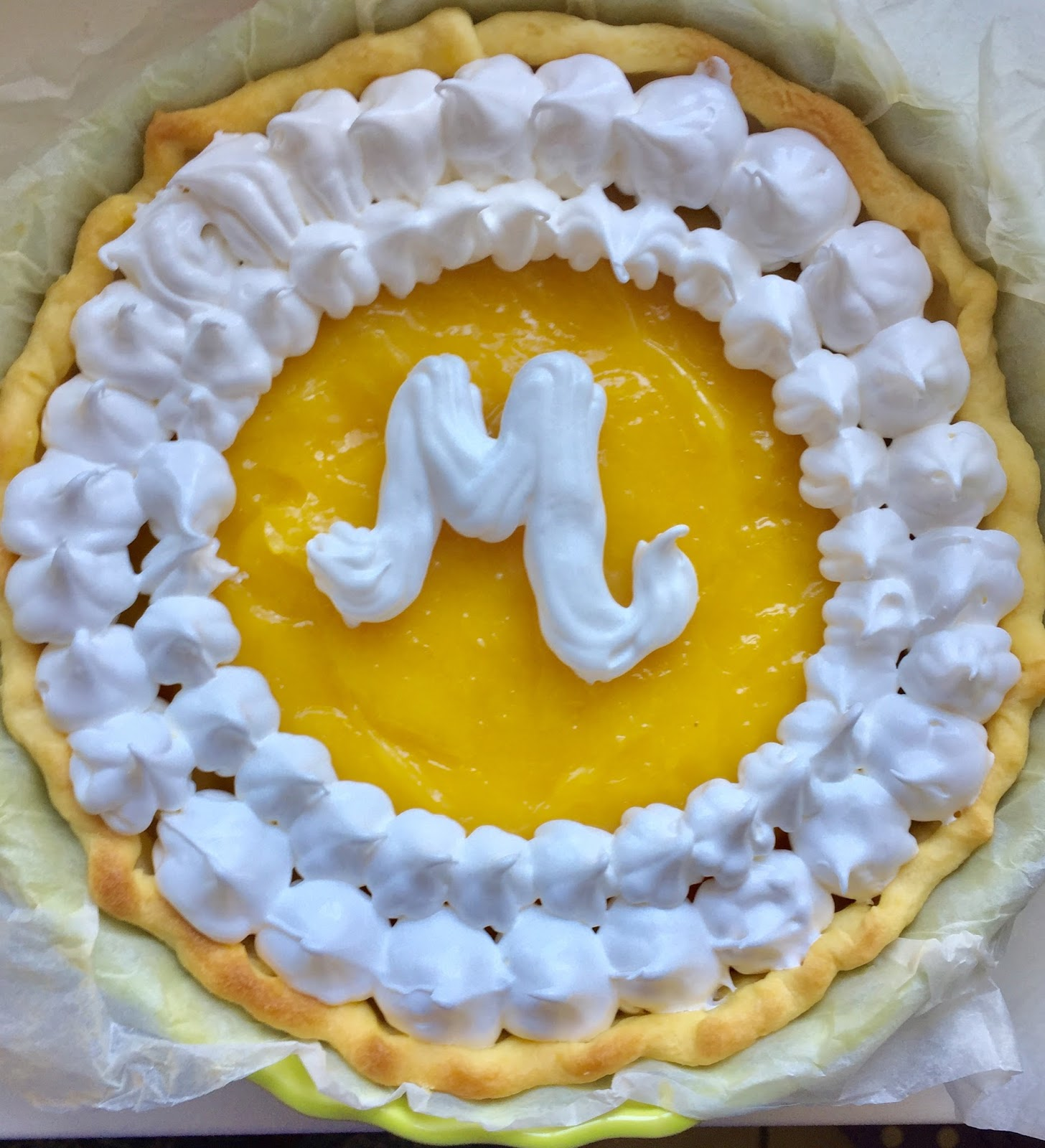 Initiales gg tarte aux citrons meringu e la recette facile - Tarte aux citrons meringuee facile ...