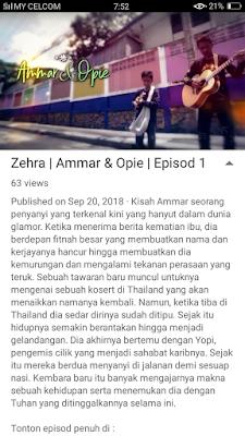 Sinopsis drama Ammar Dan Opie