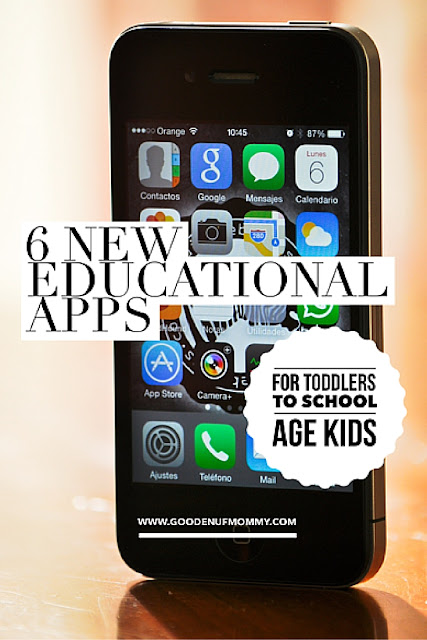 Top educational apps for preschoolers and school-aged kids.