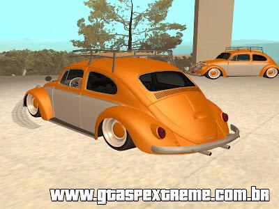 Volkswagen Fusca Eurolook para GTA San Andreas