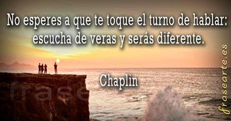Frases motivadoras de Chaplin