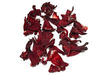 乾燥したハイビスカスの萼