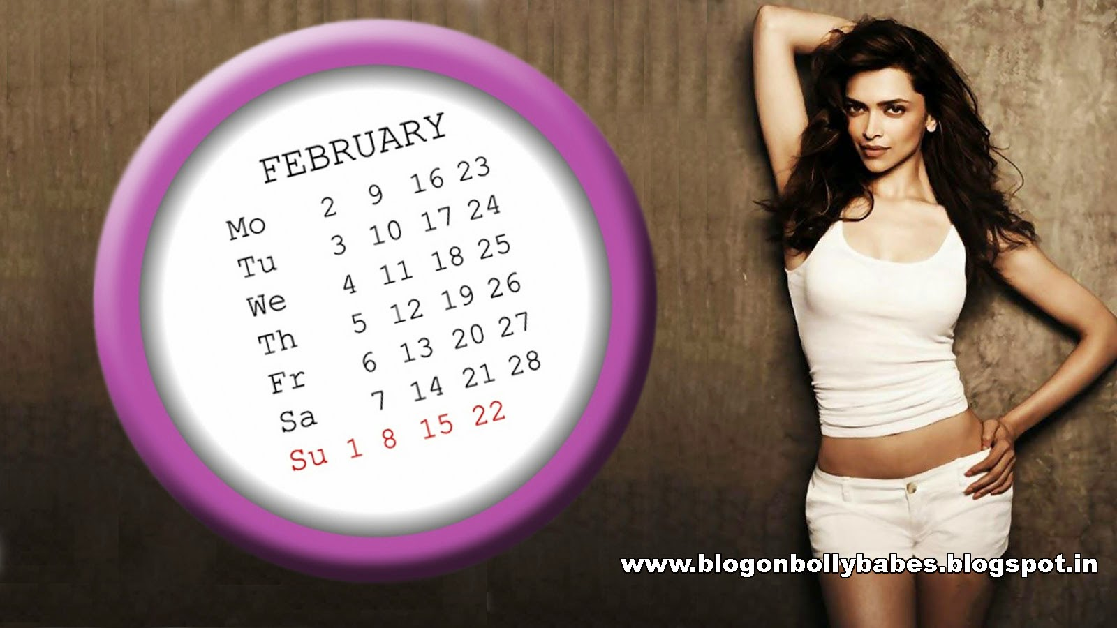Deepika Padukone February 2015 Desktop Wallpaper