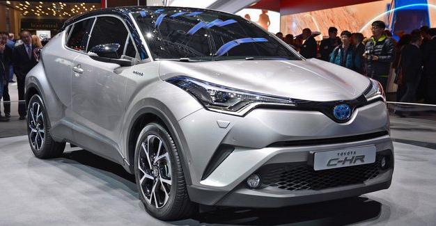 Spesifikasi dan Harga Toyota C-HR Agustus 2017