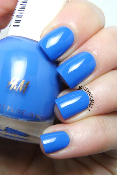 H&M Lapis Lazuli - smalto blu - blue nail polish